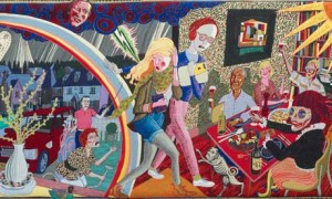 Expulsion From Number 8 Eden CloseGrayson Perry tapestry